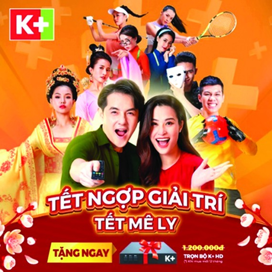 K+ tặng khách đầu thu dịp Tết Tân Sửu 2021