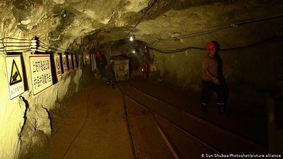 Tai nạn hầm mỏ khá phổ biến ở Trung Quốc. Ảnh minh họa: dw.com
