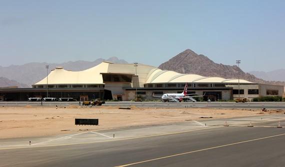 Sân bay quốc tế Sharm El-Sheikh. Ảnh: Wikipedia