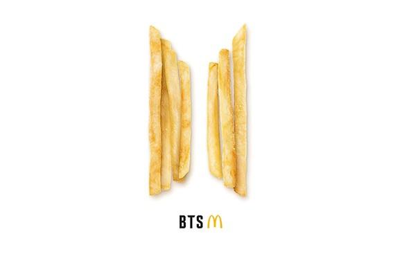 McDonald's hợp tác với BTS