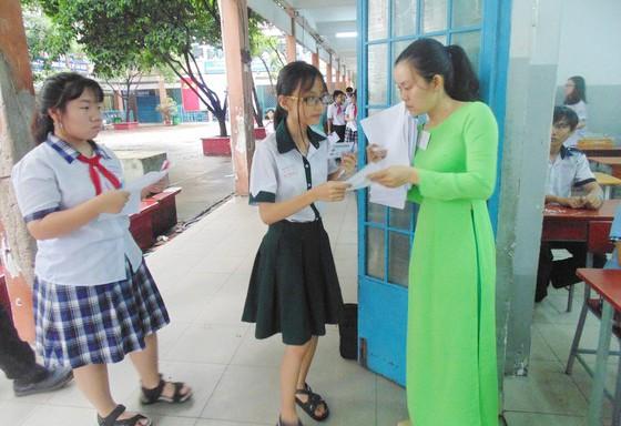 Thí sinh tham dự kỳ thi tuyển sinh lớp 10 THPT công lập năm học 2019-2020