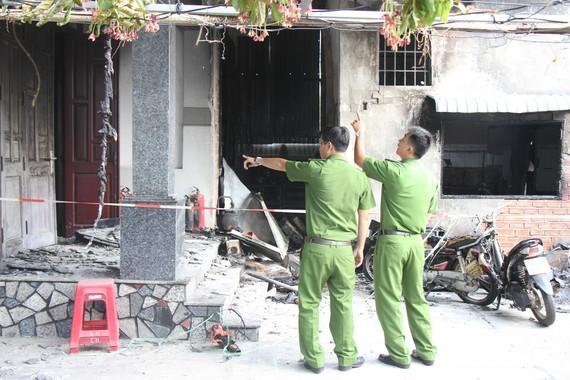 Hiện trường vụ cháy khiến 3 người tử vong