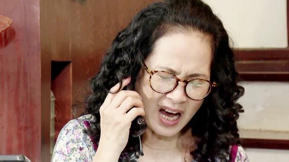 Nhân vật bà mẹ chồng luôn giận dữ, quát tháo, trong bộ phim Sống chung với mẹ chồng (ảnh minh họa)