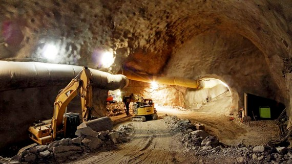 Đường hầm xe lửa Brenner kết nối Áo với Italia dự kiến hoàn thành năm 2025. Ảnh: BBT-SE