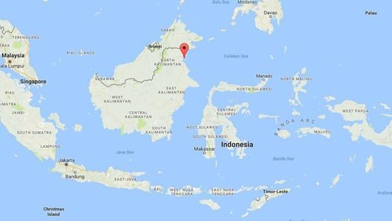 Tai nạn tàu khách xảy ra ngoài khơi đảo Borneo của Indonesia ngày 1-1-2018