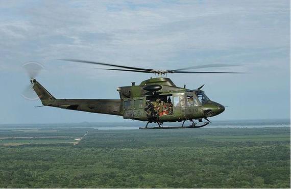 圖為貝爾412直升機。(示意圖源:互聯網)