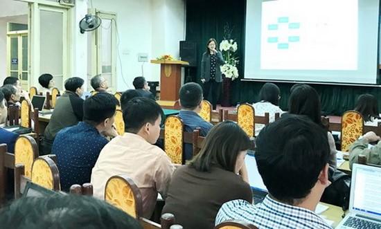 """圖為有關""""R123""""技能項目公佈與研究公佈培訓研討會的現場一瞥。"""