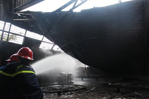 圖為火勢熄滅後的現場。(圖源:PCCC)