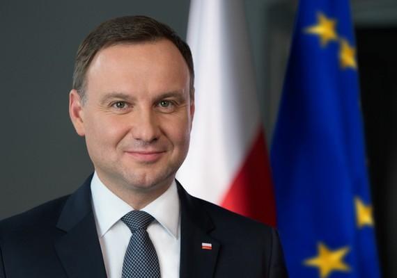 圖為波蘭共和國總統安傑伊‧杜達(Andrzej Duda)。(圖源:AFP)