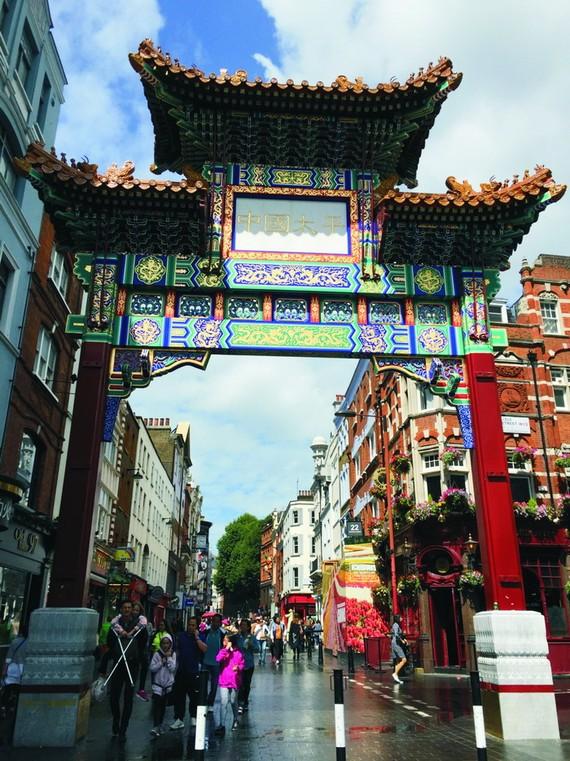 牌樓是倫敦唐人街最具代表性的建築。