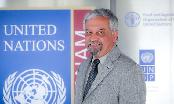 圖為聯合國開發計劃署駐越首席代表馬爾霍特拉(Kamal Malhotra)。