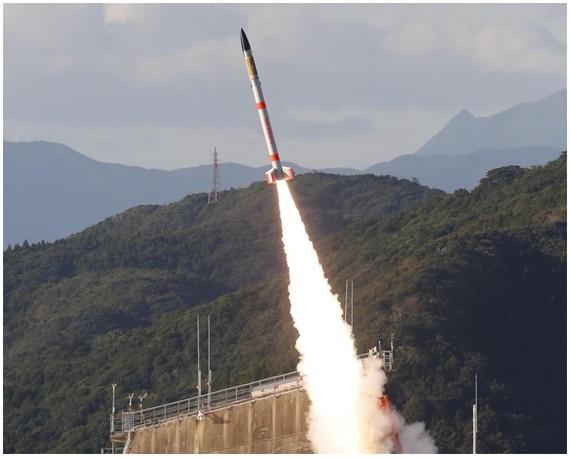 「SS-520」運載火箭於鹿兒島縣內之浦宇宙空間觀測所成功發射。(圖源:互聯網)