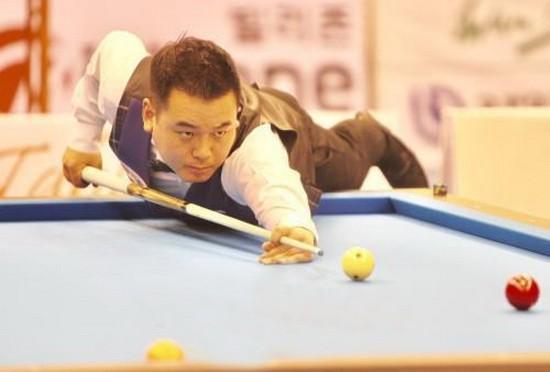 韓國選手Cho Jea Ho 在比賽中。
