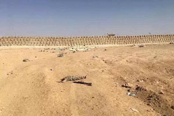 """埃及軍方發言人塔梅爾‧里法伊14日發表聲明說,埃及西奈省中部一座軍營當天遭到恐怖份子""""大規模""""襲擊,造成8名軍人死亡,至少15人受傷,另有14名恐怖份子被擊斃。(圖源:互聯網)"""