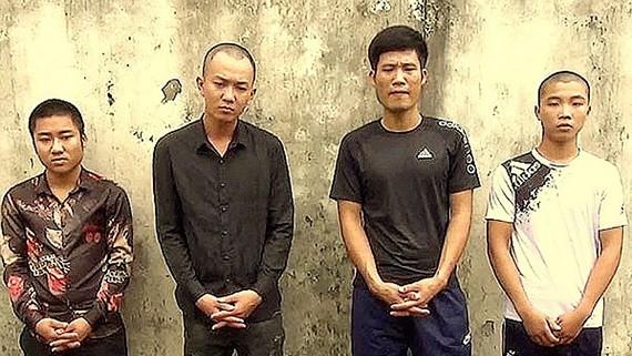 涉嫌私藏武器罪的4名嫌疑人被起訴。(圖源:俊光)