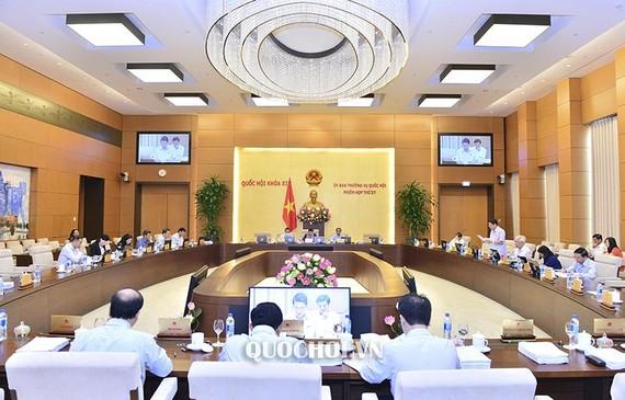 會議場景一隅。(圖源:Quochoi.vn)