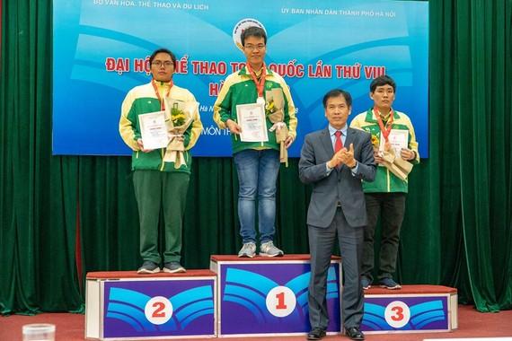 胡志明市隊佔國際象棋賽項全團排行榜的首位。(圖源:互聯網)