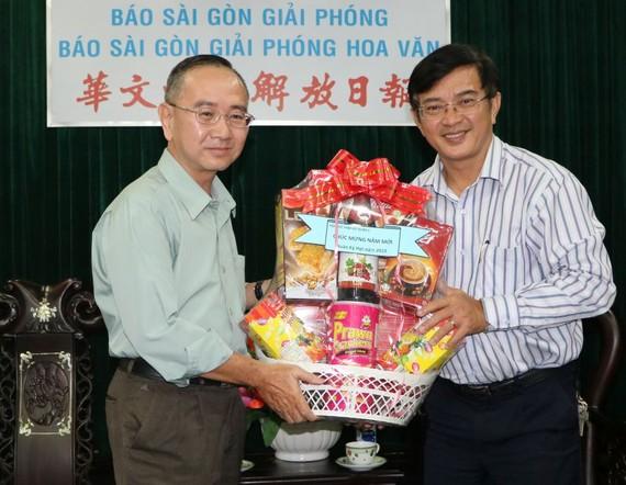 黎勳峰主席感謝報社多年來的協助。