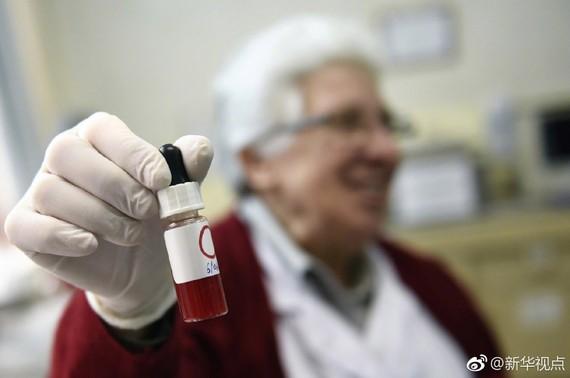 德國開發出新型乳腺癌血液檢測法。(圖源:新華社)