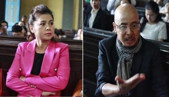 中原咖啡集團創辦人鄧黎源宇(右)與妻子黎黃葉草。(圖源:黃東)