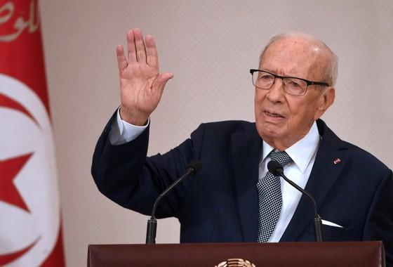 突尼斯共和國總統貝吉‧卡伊德‧埃塞卜西。(圖源:AFP)