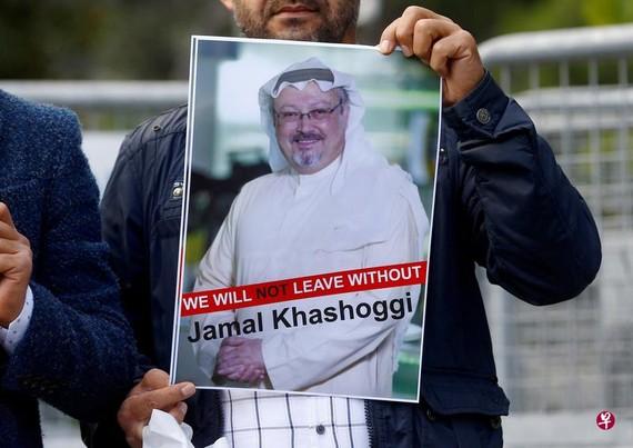 卡舒吉去年在沙特駐土耳其伊斯坦布爾領事館遇害。 (圖源:路透社)