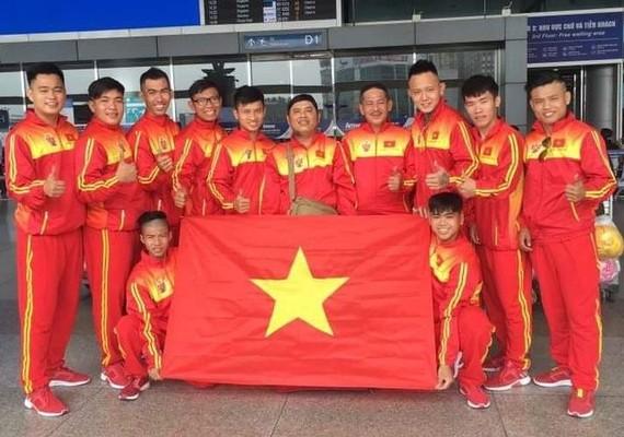 豪勇堂代表越南赴台灣參加比賽。