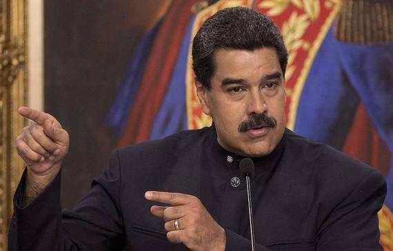 委內瑞拉總統馬杜羅。(圖源:AP)