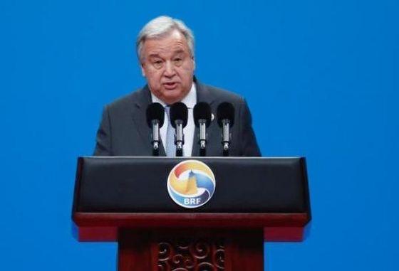 聯合國秘書長古特雷斯。(圖源:互聯網)