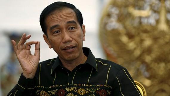 贏得連任的印尼總統佐科‧維多多。(圖源:路透社)