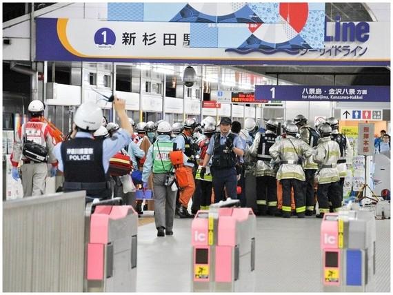 事故後救援人員到場。(圖源:互聯網)