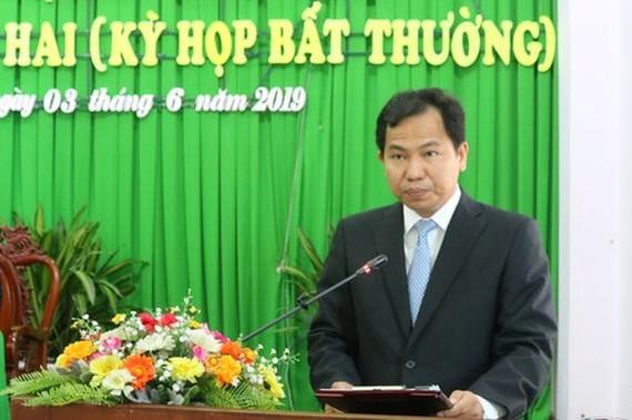 新任芹苴市人委會主席黎光孟。(圖源:黎民)