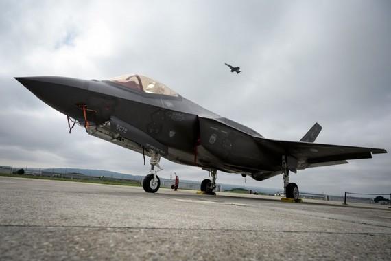根據美國和土耳其此前達成的交易,美方將向土方出售100架F-35戰機。(圖源:AFP)