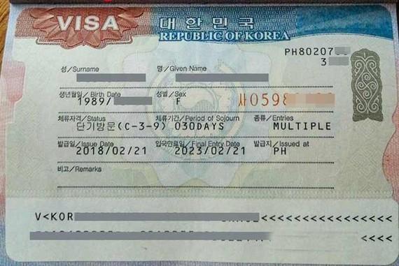 從昨日起,韓國暫停接收以暫住證件申辦5年簽證的卷宗。(示意圖源:互聯網)