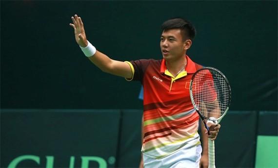 越南網球運動員李黃南。(圖源:互聯網)