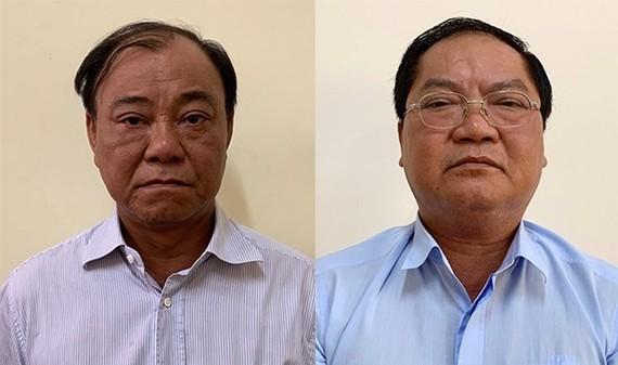 被扣押並起訴的2名嫌犯黎晉雄(左)和阮成美。(圖源:公安部)