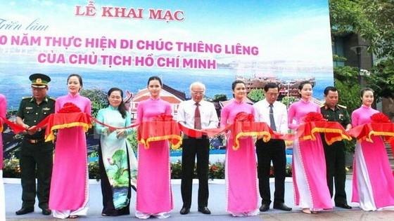 市委宣教處主任潘阮如奎、市人民議會主席阮氏麗等領導及代表、共青團員應邀出席開幕式。(圖源:市黨部新聞網)