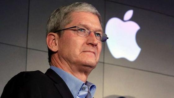 蘋果公司首席執行官蒂姆·庫克。(圖源:互聯網)