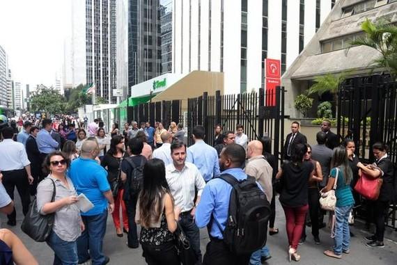 巴西聖保羅街頭。(圖源:互聯網)