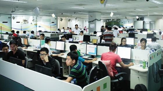 越南成為本地區軟件開發中心。(示意圖源:田升)
