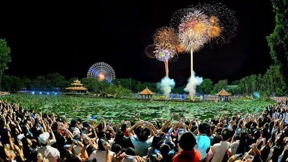 第十一郡蓮潭文化公園今(31)日起舉辦各項慶祝活動。(示意圖源:蓮潭文化公園)