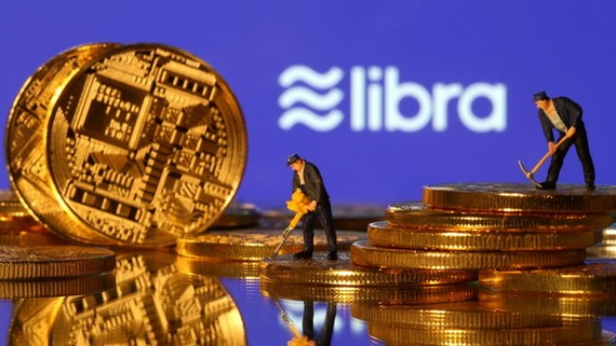 法國和德國13日表示,臉書公司計劃推出的加密貨幣Libra對金融業構成風險,或拒絕批准進入歐洲市場。(示意圖源:互聯網)