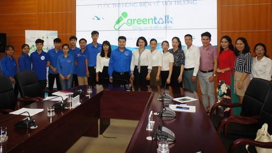 """""""Green Talk-來自天然之聲"""" 環境演講比賽主辦單位成員合照。"""