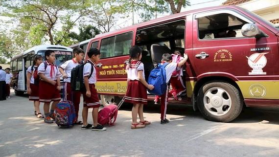 教育與培訓部建議交通運輸部規定學生接送車標準。(示意圖源:阮紅)