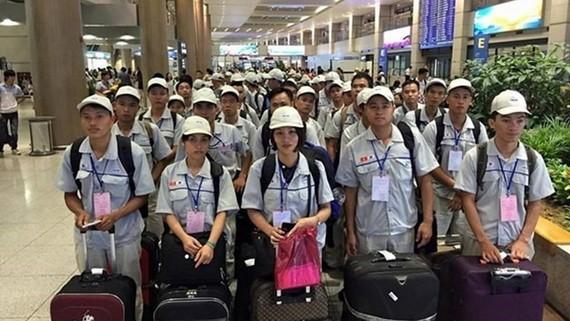 今年前9個月,赴外國工作的越南勞工總數為10萬4615人。(示意圖源:田升)