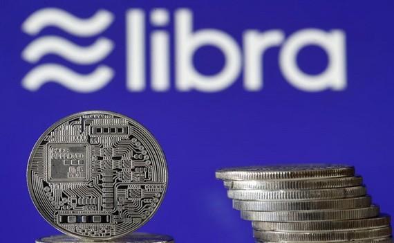 臉書Libra加密貨幣示意圖。(圖源:互聯網)