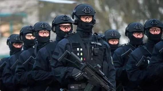 德國反恐部隊。(圖源:互聯網)