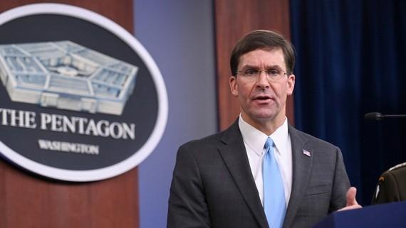 美國國防部長埃斯珀。(圖源:互聯網)