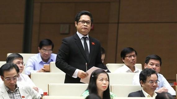 太平省國會代表團 武進祿代表。(圖源:VGP)