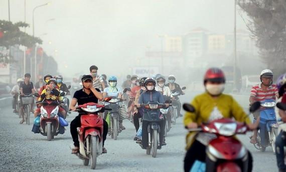 空氣污染影響市民健康。